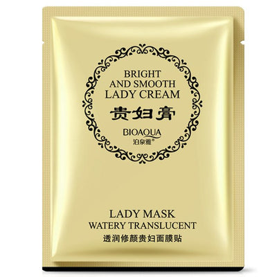 Bright & Smooth Watery Translucent Lady Cream Facial Mask