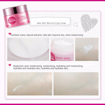 Baby Skin Moisturizing Face Cream