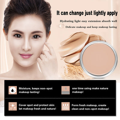 Pressed Powder Concealer Makeup Beauty Face Concealer