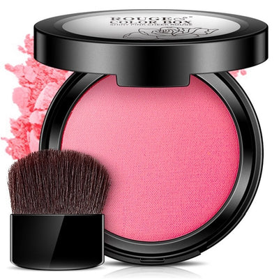 Bright Rouge Blush Nude Makeup Powder