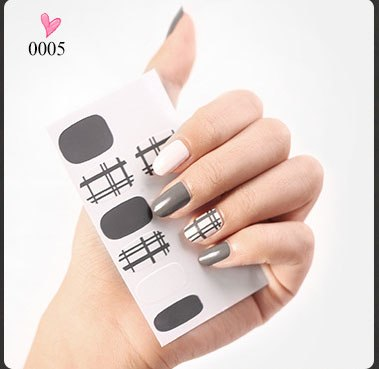 Halloween Nails Water Decal Stickers Art Decoration
