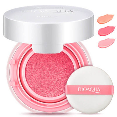 Smooth Muscle Flawless Cheek Cushion Powder - Blusher Glow Soft - BIOAQUA® OFFICIAL STORE