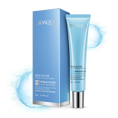 New Active Abundant Water Series Hyalo - Oligo Dual Recovery Nourishing Eye Skin Care Cream - BIOAQUA® OFFICIAL STORE