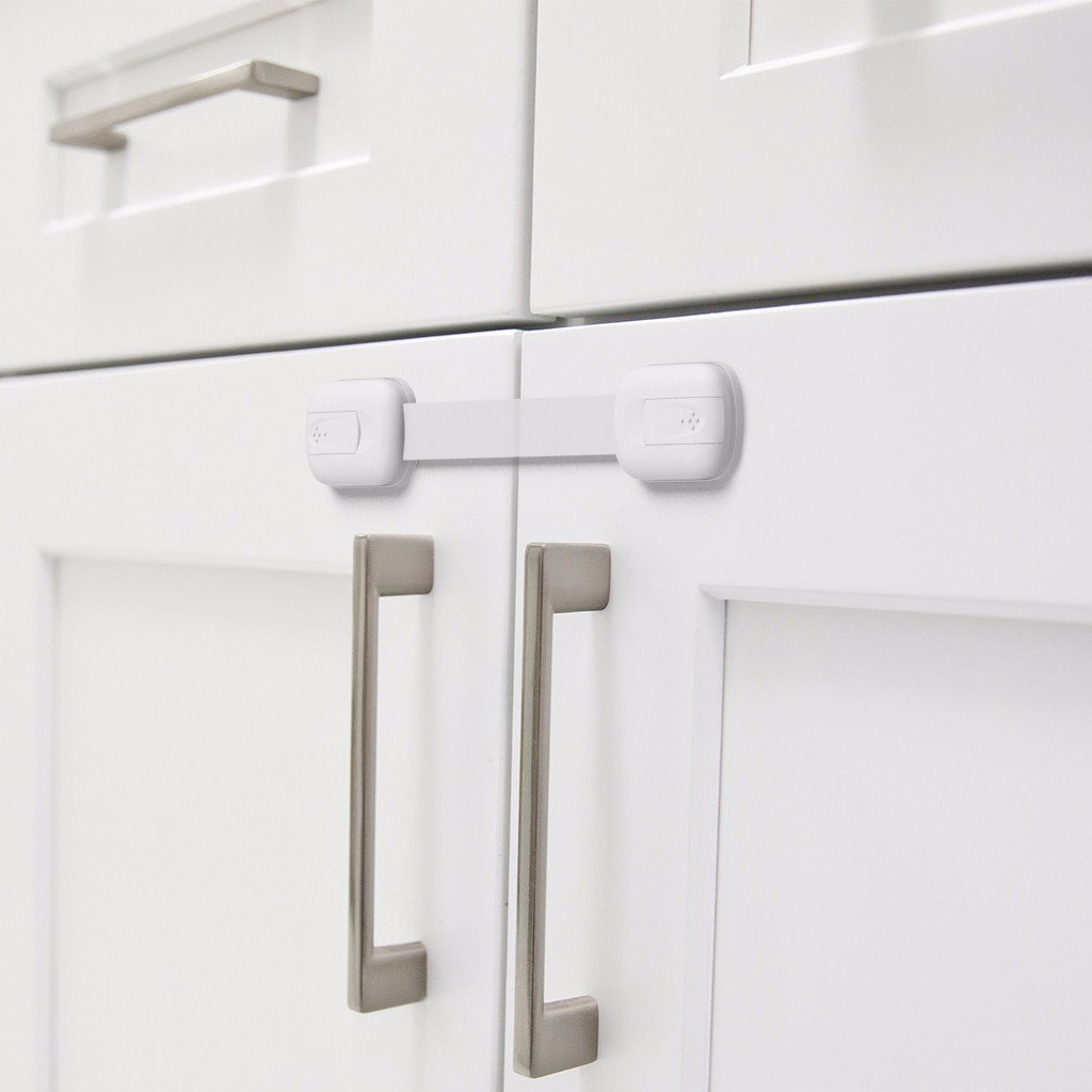 Fridge Baby Proofing Cabinet Locks Child Safety Toilet Drawers 12 Pack