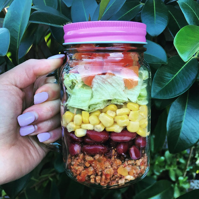 MEXICAN INSPIRED JAR SALAD
