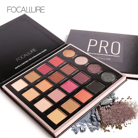 FOCALLURE Matte & Electric Pro Eyeshadow Palette