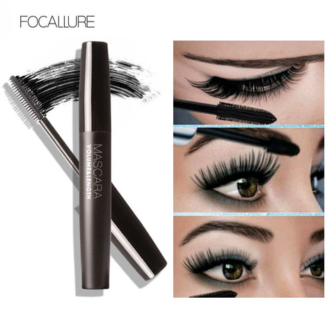 FOCALLURE Professional Volume Curled Lashes Black Mascara