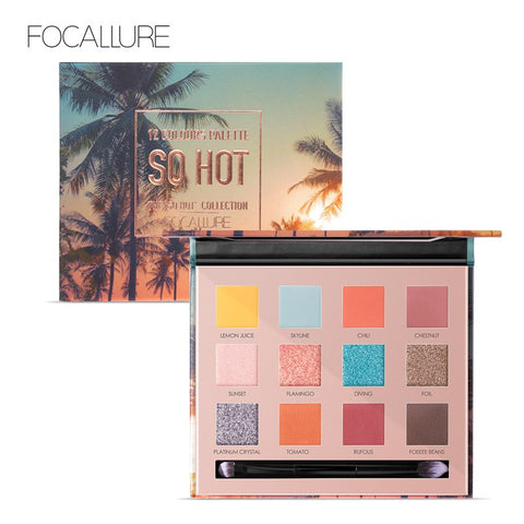FOCALLURE SO HOT Eyeshadow Palette