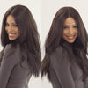 Fashion dark brown Lace wig
