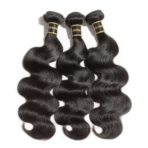 BODY WAVY DIAMOND 8A VIRGIN BRAZILIAN HAIR NATURAL BLACK 100g