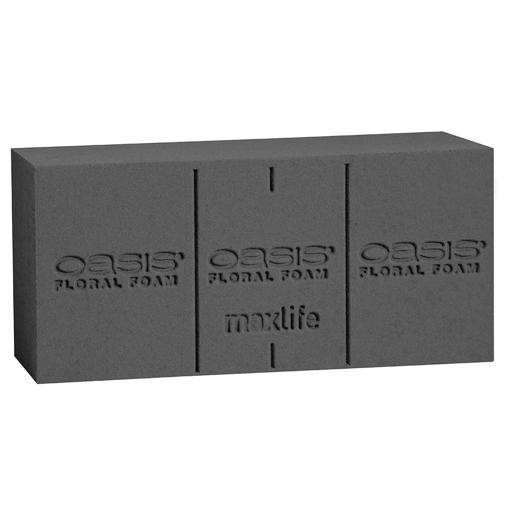 OASIS Midnight Floral Foam, Deluxe Brick
