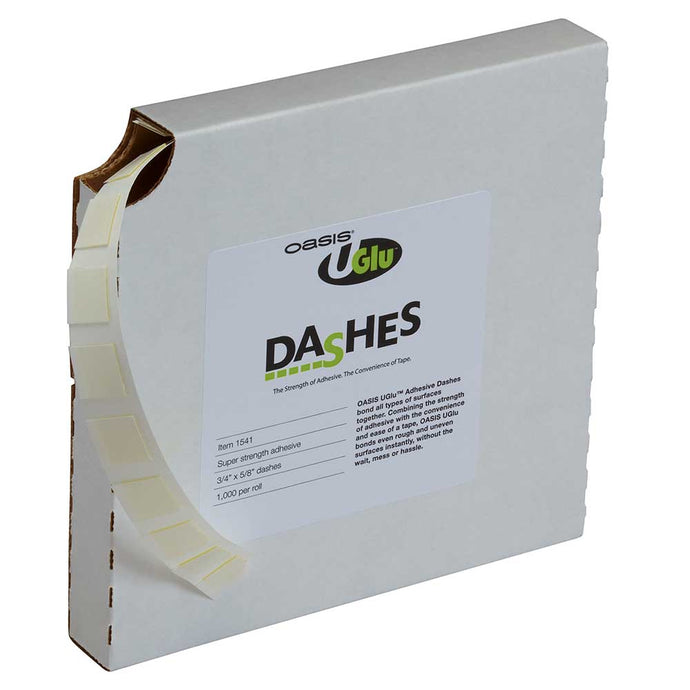 UGLU Adhesive Dash, 1,000/box