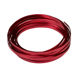 "OASIS Flat Wire, Red 3/16""W x 32.8 ft. roll"