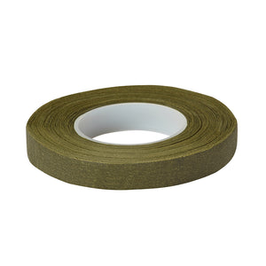 Floratape® Stem Wrap, Olive Green 1/2""