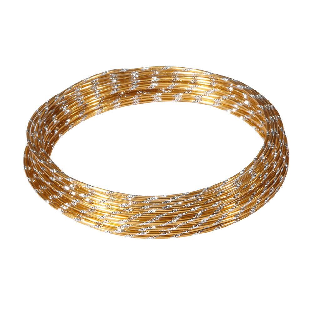 OASIS Diamond Wire, Gold 12ga x 32.8 ft. roll