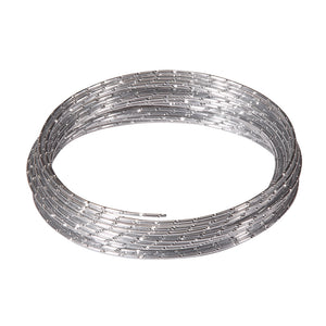 OASIS Diamond Wire, Silver 12ga x 32.8 ft. roll