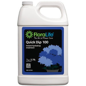Floralife Quick Dip 100 instant hydrating treatment, 1 gal