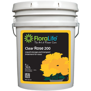 Floralife Clear Rose 200 storage & transport, 5 gal