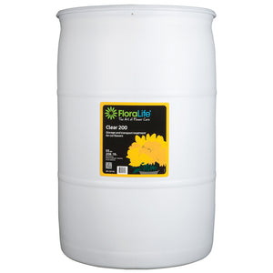 Floralife Clear 200 storage & transport treatment, 55 gal