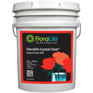 Floralife CRYSTAL CLEAR Flower Food 300 Powder, 30 lb.