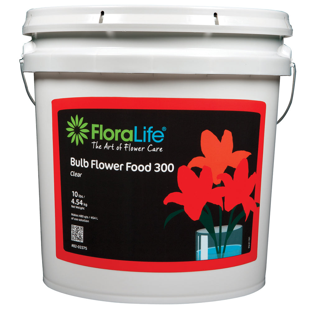 Floralife Bulb Food Clear 300 Powder, 10 lb.