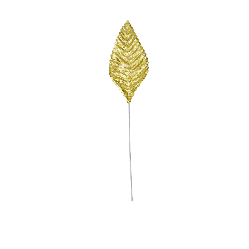 Atlantic Never Wilt™ Corsage Leaf, Foil Gold 3