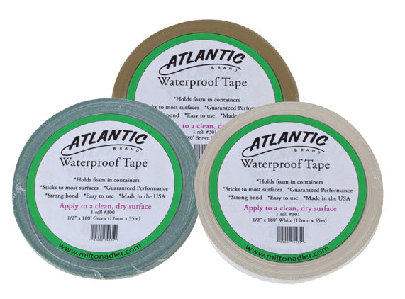 Atlantic Waterproof Tape, Green 1/2