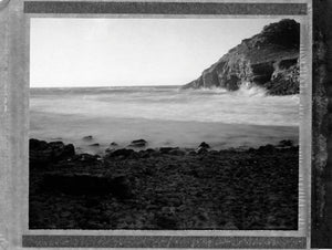 Polaroid of Chapel Porth, Cornwall