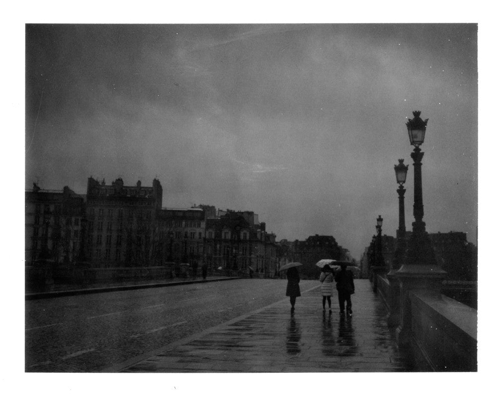 Polaroid image of Paris