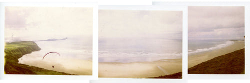 Polaroid of Rhosilli on the Gower