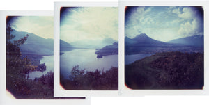 Polaroid of Lake Annecy, France