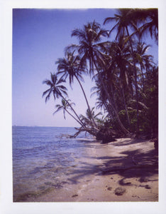 Polaroid of Cahuita National Park, Costa Rica