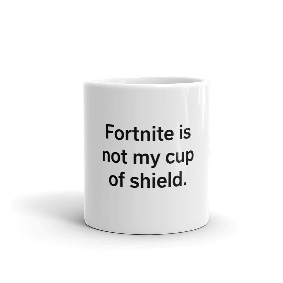 Fortnite Shield Mug
