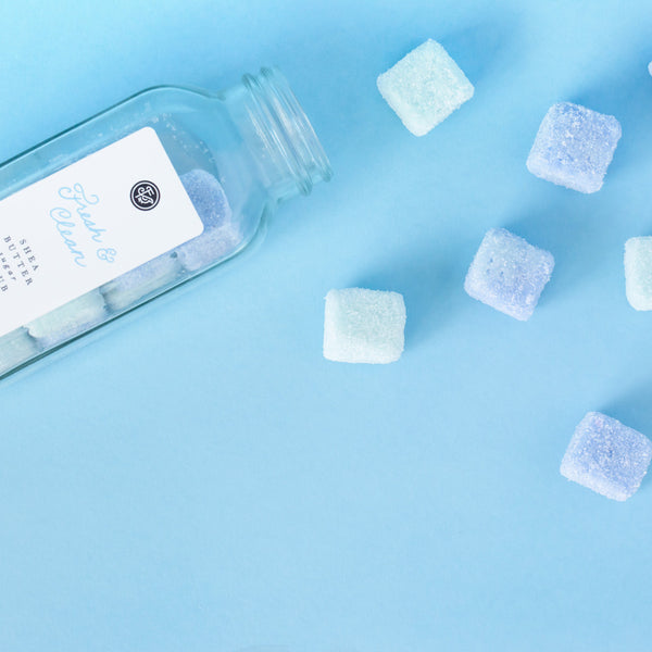 Fresh and Clean Sugar Scrub Cubes