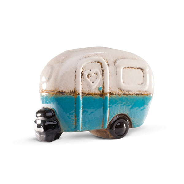 Blue Camper Toothbrush Holder