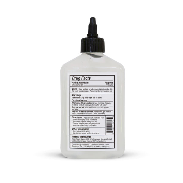 NEW 70% Alcohol Hand Sanitizer - 11 oz. Bottle ($1.36/oz) -- LARGE SIZE