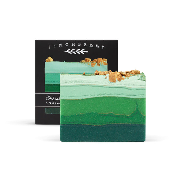 Emerald- Handcrafted Vegan Soap