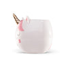 Sweet unicorn face ceramic mug