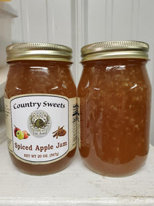 Country Sweets Spiced Apple Jam 20 oz Jar
