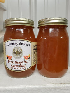 Country Sweets Pink Grapefruit Marmalade 20 oz Jar