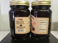 Load image into Gallery viewer, Dutch Kettle All Natural Homemade Black Bear Jam 19 oz Jar Black Raspberry, Blackberry, Blueberry