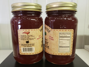 Dutch Kettle All Natural Homemade Strawberry Rhubarb Jam 19 oz Jar