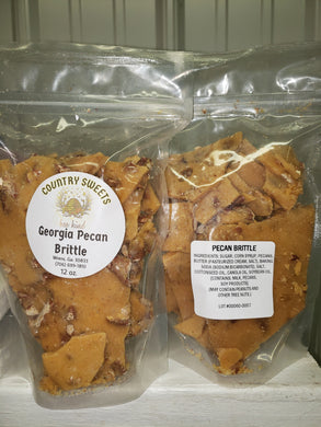 Country Sweets 12 oz Georgia Pecan Brittle