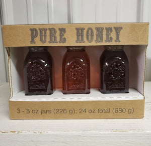 Georgia Honey Gift Box of 8 Oz Muthe Jars