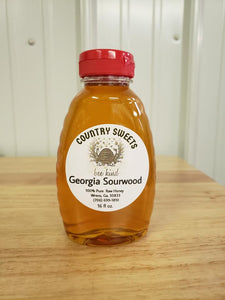 Pure Raw Sourwood Liquid Honey 1 lbs