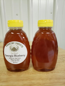 Pure Raw Georgia Blueberry Honey 16 oz / 1 Ibs