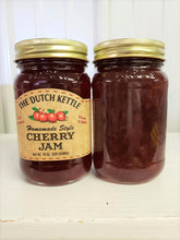 Load image into Gallery viewer, Dutch Kettle All Natural Homemade Cherry Jam 19 oz Jar