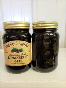 Dutch Kettle All Natural Homemade Boysenberry Jam 19 oz Jar