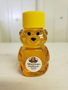 3 Oz Baby Bear with Variety Honey