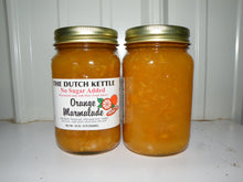 Load image into Gallery viewer, Dutch Kettle No Sugar Added All Natural Homemade Orange Marmalade Jam 19 oz Jar